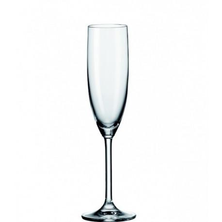 Coffret 6 flutes à champagne Léonardo daily