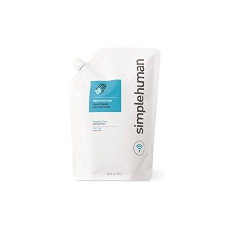 Recharge Savon 1 litre Sans Parfum, Simplehuman
