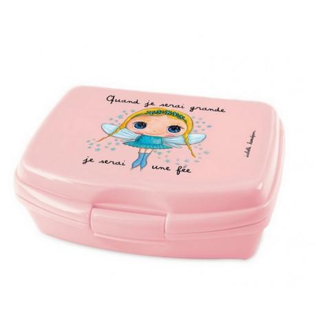 Achat vente boite gouter enfant lunch box vaisselle enfant vaisselle plastique label - Boite a gouter personnalisee ...