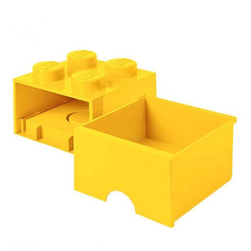 Achat vente une brique de rangement lego tiroir 4 plots - Brique de rangement lego ...