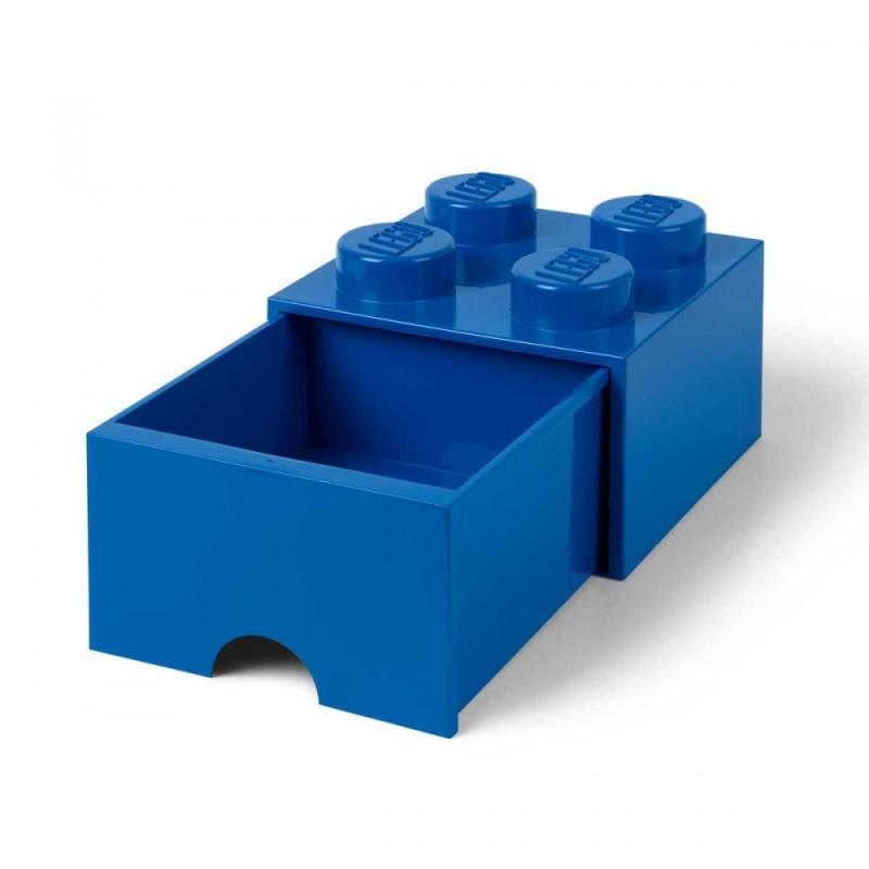 achat vente une brique de rangement lego tiroir 4 plots. Black Bedroom Furniture Sets. Home Design Ideas