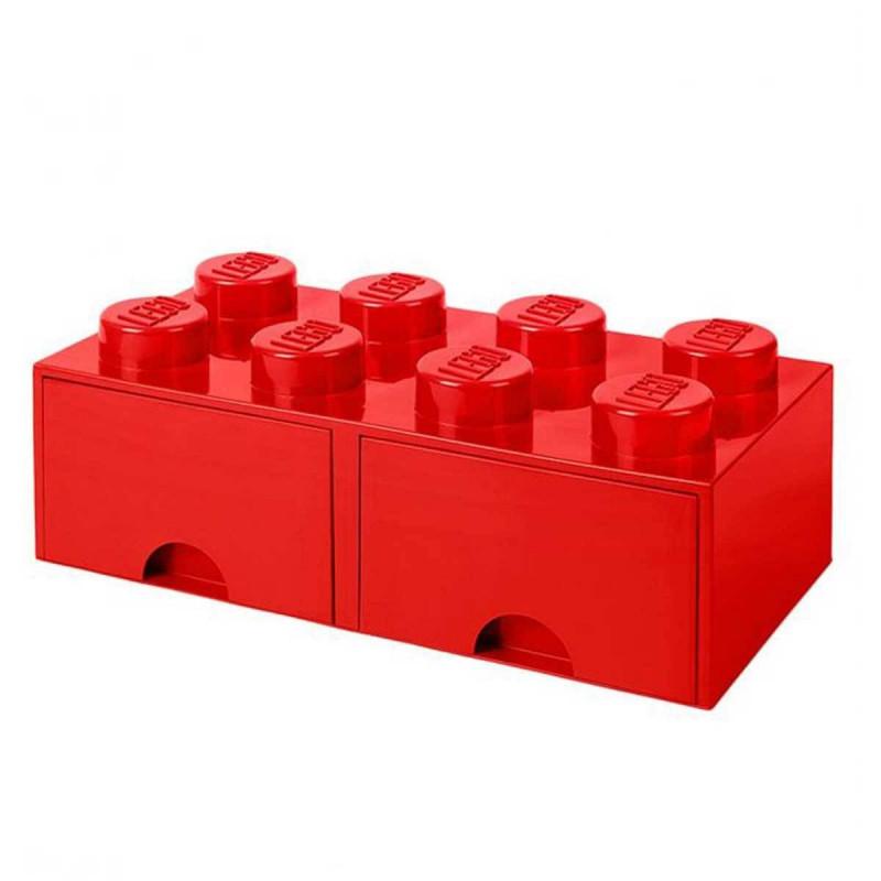 achat vente brique de rangement lego tiroir 8 plots. Black Bedroom Furniture Sets. Home Design Ideas