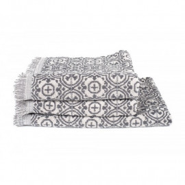 Serviette éponge Meknes Granit, Harmony Textile