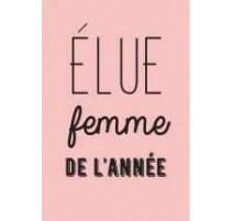 """Magnet """"Elue femme de l'année"""", Derrière la Porte"""