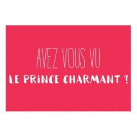"""Magnet """"Avez vous vu le prince charmant ?"""", Derrière la Porte"""