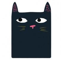 Memo Magnet Black Cat, Derrière la Porte