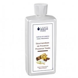 Parfum Gourmandises de Provence 500ml, Lampe Berger