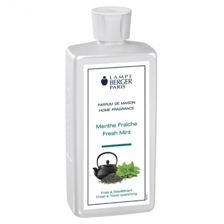 Parfum Menthe fraîche au Riad 500 ml, Lampe Berger