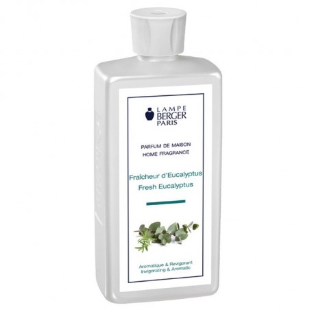 Parfum Fraîcheur d'eucalyptus 500ml, Lampe Berger
