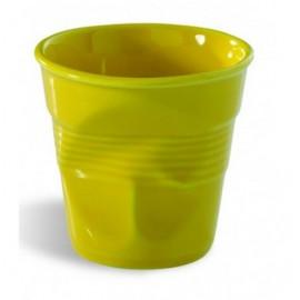 Gobelet Froissé Espresso 8 Cl jaune Revol