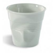 Gobelet Froissé cappuccino 18 Cl blanc Revol