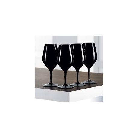 Coffret 4 Verres Noir à l'aveugle dégustation Authentis, Spiegelau