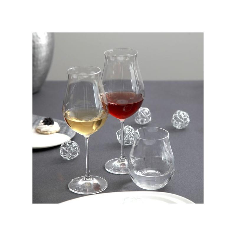 acheter verre vin cristallin attimo forme tulipe de bruno evrard. Black Bedroom Furniture Sets. Home Design Ideas