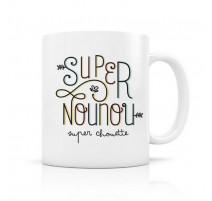Mug Super nounou, Créa Bisontine