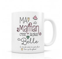 Mug Ma Maman c'est la plus belle, Créa Bisontine