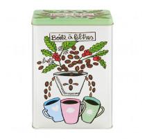 Boîte à filtres à café Tasses, Derrière la porte