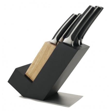 Bloc Manhattan Aries + 5 couteaux, Sabatier