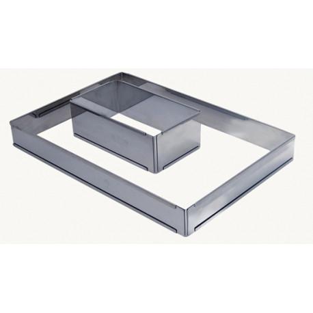 Cadre carré professionnel extensible 21,5/40cm, De Buyer
