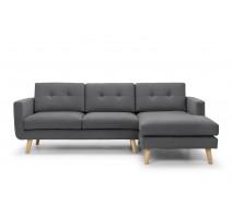 Canapé d'angle winner Sunday gris fonçé, Scandinavian Design