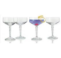 Coffret 6 coupes à champagne Spirit, Léonardo