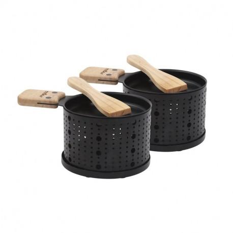 Set 2 raclettes à la bougie Lumi, Cookut