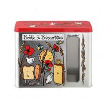 Boîte à fenêtre Biscottes Cocotte, Derrière la porte