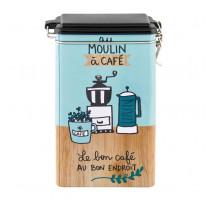 Boîte à café Délices, Derrière la porte