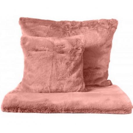 achat vente plaid fausse fourrure coussin fausse. Black Bedroom Furniture Sets. Home Design Ideas
