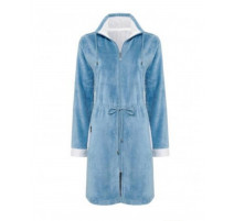 Peignoir Chicago bleu jean, Vandyck