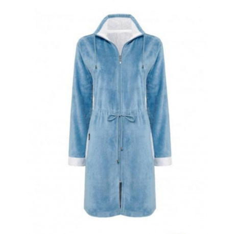 Peignoir Chicago bleu jean's, Vandyck