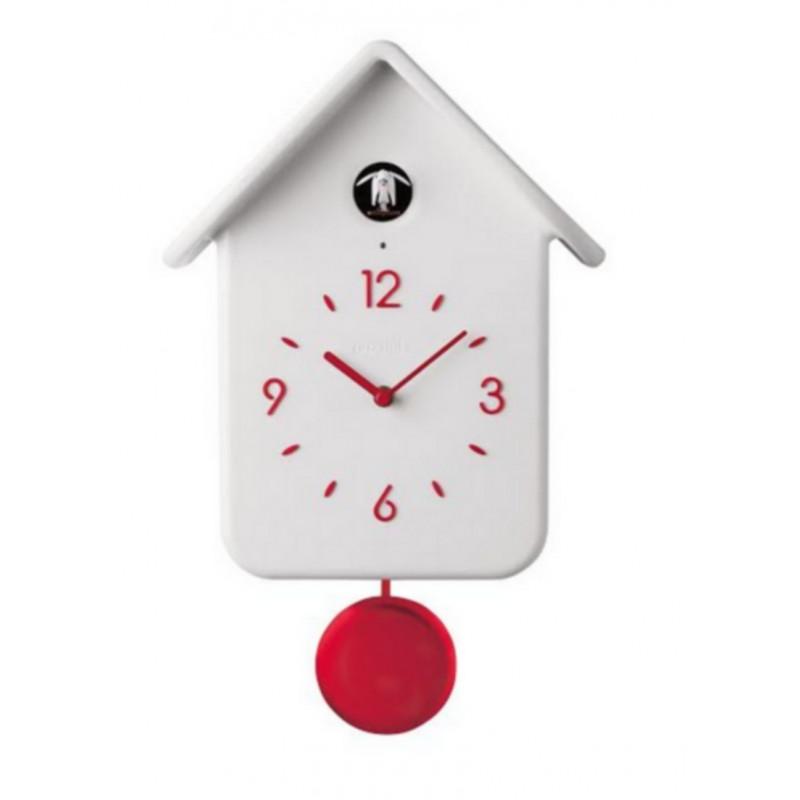 Horloge blanche design free horloge murale pace blanche - Grande horloge murale blanche ...