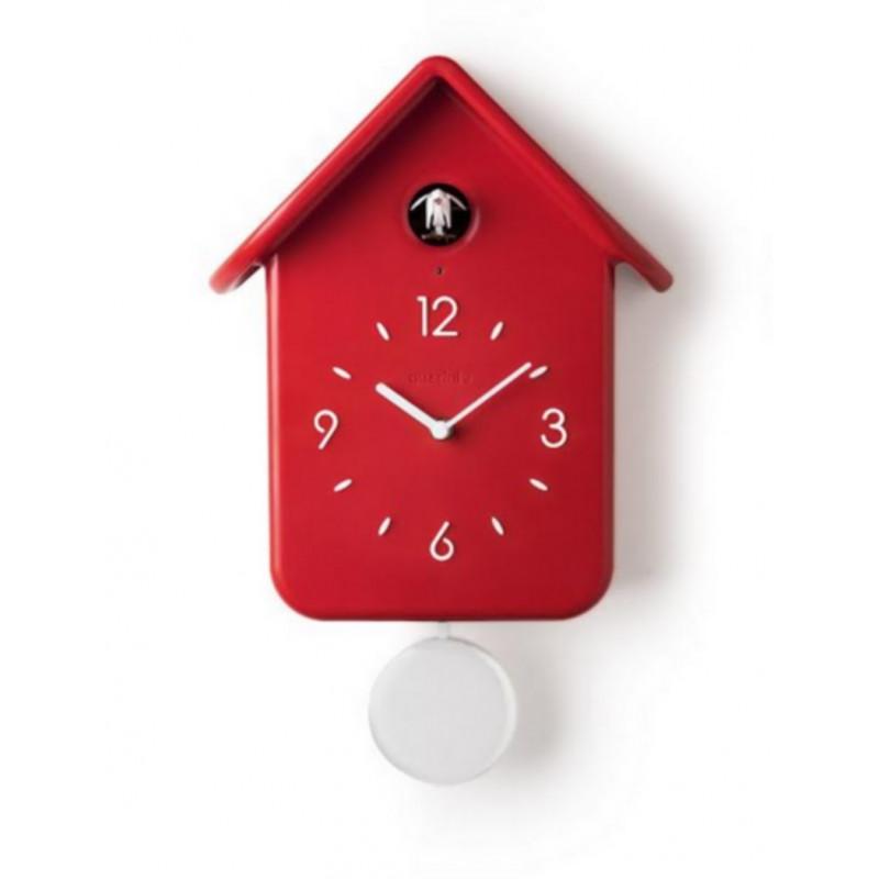 pendule coucou design est une horloge de coucou par pedro mealha dsign pendule coucou quartz. Black Bedroom Furniture Sets. Home Design Ideas