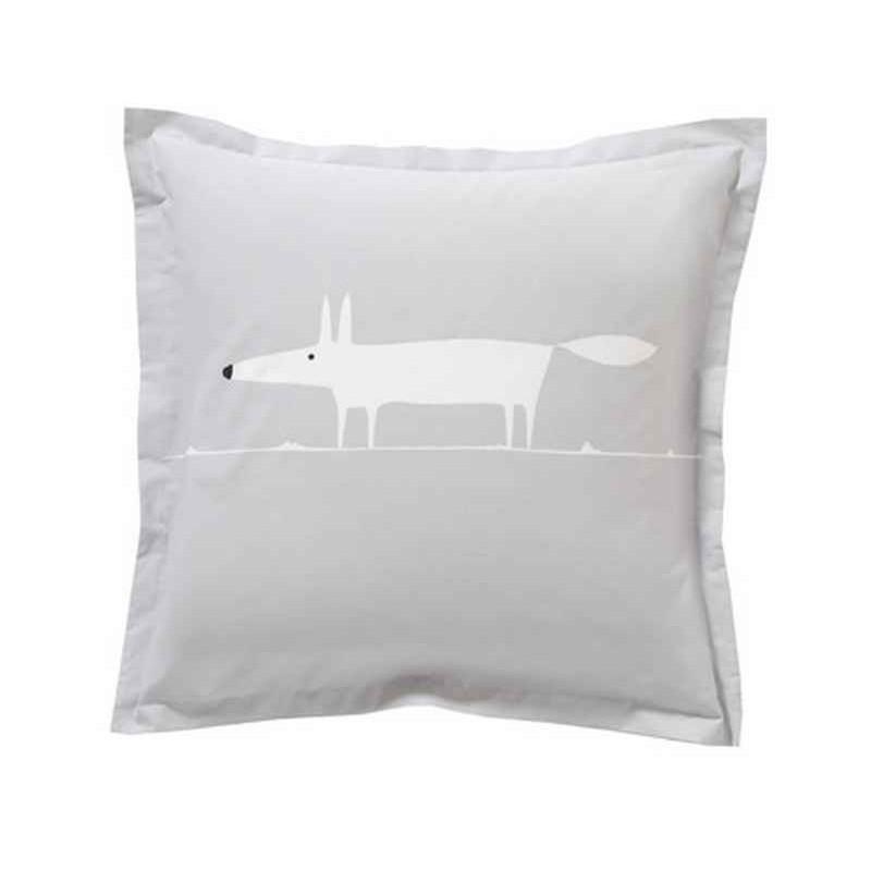 acheter taie d 39 oreiller mr fox perle scion living. Black Bedroom Furniture Sets. Home Design Ideas