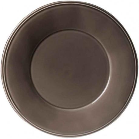 Assiette en faïence Constance poivre, Côté Table