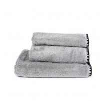Serviette de bain Issey béton, Harmony Textile