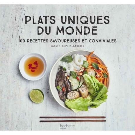 Livre Plats uniques du Monde, Hachette