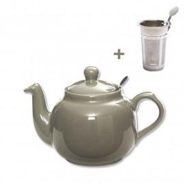 Théière 1.3 litre Farmhouse Gris, London Pottery