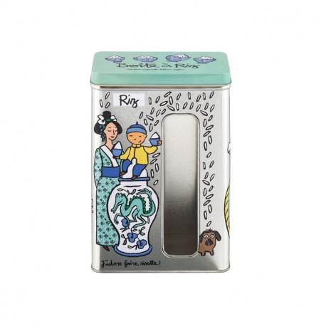Boîte à fenêtre Riz Dragon, Derrière la porte