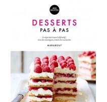 Desserts pas à pas, Marabout