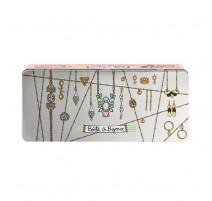 Boîte à bijoux Géométrie, Derrière la porte