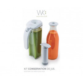Kit conservation de jus, Warmcook