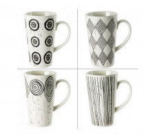 Coffret 4 mugs 42 cl Palawan, Table passion