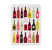 Boîte à vins divins garnie, Derrière la porte