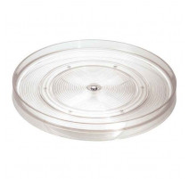 Plateau tournant transparent 28 cm Linus, Interdesign