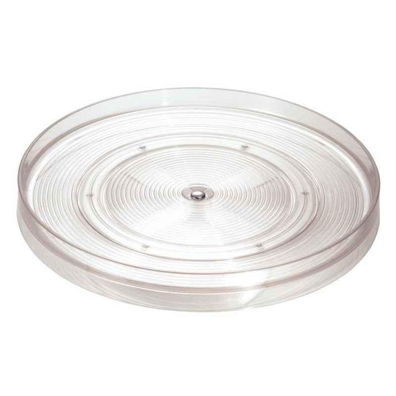 Acheter plateau tournant transparent 28 cm linus interdesign - Plateau tournant cuisine ...
