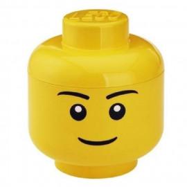 Tête de rangement Garçon, Lego