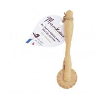 Roulette coupe-pâte en buis, Mirontaine