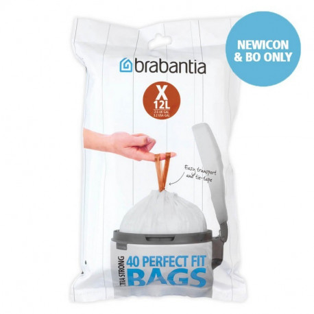 Sacs poubelle PerfectFit 10-12L X, Brabantia