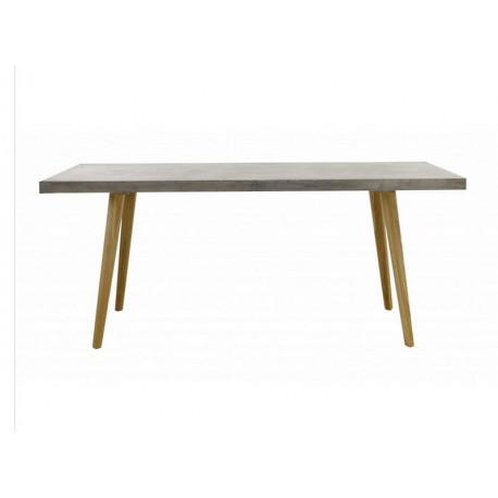 table de salle manger en bton cir zago - Table Salle A Manger Beton Cire