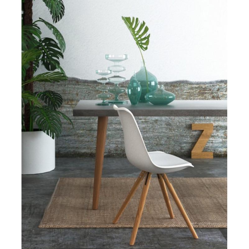 achat / vente table salle à manger - table repas - mobilier béton ... - Table Salle A Manger Beton Cire